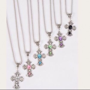 Jewelry - Lovely Cross Pendant Necklace